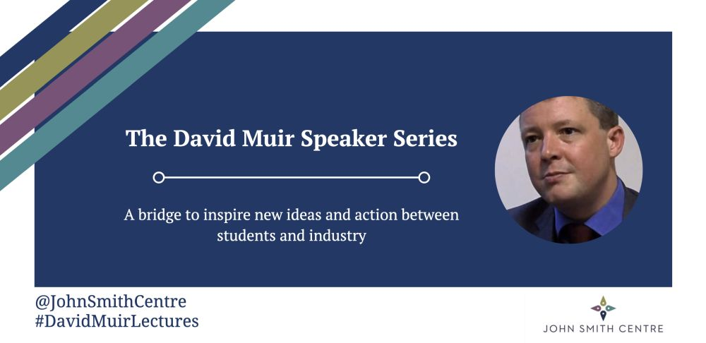 David Muir Speaker Series