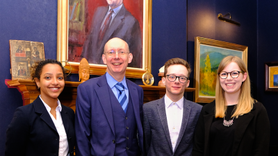 ROBERTSON SCHOLARS MEET WITH JOHN SMITH TRUST FELLOWS IN EDINBURGH