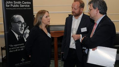 THE JOHN SMITH CENTRE LAUNCHES AT DOVER HOUSE, WHITEHALL