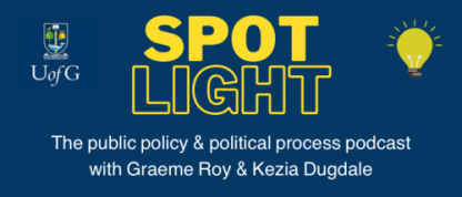 """NEW POLICY PODCAST """"SPOTLIGHT"""" LAUNCHED"""