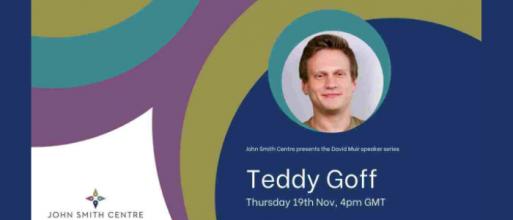David Muir Speaker Series: Teddy Goff