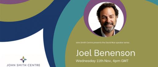 David Muir Speaker Series: Joel Benenson